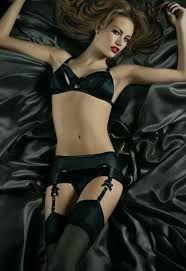 Image result for black lingerie