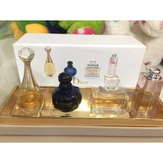 Christian Dior Little Luxuries Parfums Gift Set 4 Miniatures Never Used In Box in Health & Beauty > Fragrances > Women's Fragrances Dior Addict, Miss Dior, Christian Dior, Miniatures, Pure Products, Luxury, Fragrances, Box, Gifts