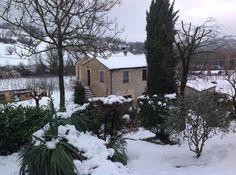 Neve!  #bedandbreakfast  #cupramontana #turismomarche #snow #lemarche #italy