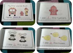 Last year I shared some great ideas for Fire Prevention Week  and I wanted to share some more wonderful ideas that I have found this year! ...