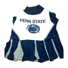 check out 72bda 0d6fd Pets First Collegiate Penn State Nittany Lions Dog Cheerleader Dress
