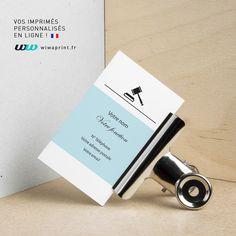 Carte De Visite Minimaliste Justice Design