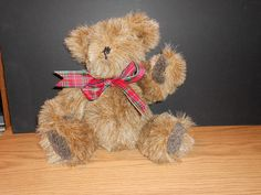 15 Jointed Teddy Bear by ladystamp on Etsy, $50.00