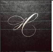 Image result for connie rie calligraphy letters