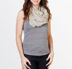 Musulu Infinity scarf (avail in LOTS of colors) from FasionABLE, a non-profit devoted to growing sustainable business for impoverished women in Africa. Why give Forever21 your dollars when they can go to a family in need?