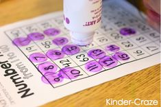 great ideas for helping students learn their numbers up to 100