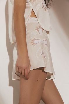 9363a09c4fc Slide View  1  UO Love Story Embroidered Short Embroidered Shorts