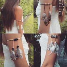 Fun feather armbands up in the shop Link in my bio  #love #beautiful #beauty #summer #pocahontas #naturelovers #indie #feather #armlet #tribal #gypsy #featherarmband #festival #fashion #style #goodvibes #hipster #hippie #seagypsy #instagood #instadaily #longhair #Natural #girl #fashionista #edm #coachella #happy #freespirit #freepeople