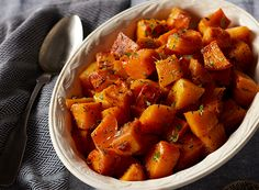 Honey Thyme Roasted Butternut Squash from Publix Aprons