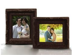 Personalized Chocolate Picture Frame Favors (Set of Special Day, Special Occasion, Chocolate Pictures, Edible Wedding Favors, Personalized Chocolate, Unique Weddings, Chocolates, Wedding Details, Picture Frames