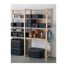 KLÄMTARE Box mit Deckel innen/außen - IKEA
