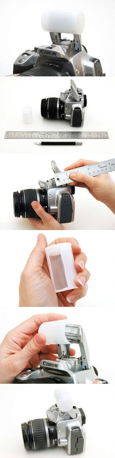 Reduce, Reuse, Diffuse: Learn How to Make Your Own Flash Diffuser from an Old Film Container