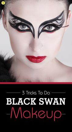 3 Tricks To Do Black Swan Makeup