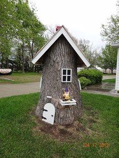 house for my yard fairy.