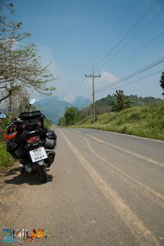 Mopedreisen in Thailand
