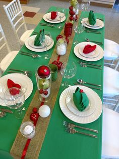 Elf shoe napkin fold for your Christmas table setting ...