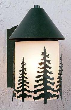 Vistalee Cedar Tree Ext. Wall Light