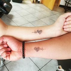 Mom Tattoos, Forearm Tattoos, Tattoos For Women, Sister Heart Tattoos, Parent Tattoos, Mother Daughter Tattoos, Tattoo Women, Friend Tattoos, Tatoos