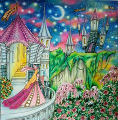#eriy #romanticcountry #romanticcountrycoloringbook #thesecondtale @drawing_n_coloring_ with @insta.save.repost • • •