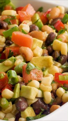 dips and appetizers Flavorful and delicious cowboy caviar dip that will become the star of the show at your next get together. Full of fresh veggies and topped with an easy homemade dressing. Healthy Appetizers, Appetizer Recipes, Salad Recipes, Seafood Appetizers, Dinner Recipes, Vegetarian Recipes, Cooking Recipes, Healthy Recipes, Cowboy Caviar Dip