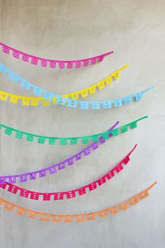Papel Picado Streamer DIY