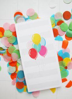 Balloon Notepad! (Studio DIY & Pencil Shavings Studio)