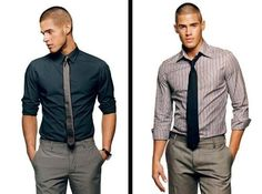 Nice outfits - I especially like the shirt on the  left.