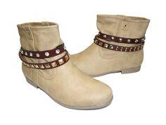 Schuhkette Elegant Rock und Scary Rock Braun - La Loria