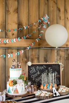 Wild & free birthday party: http://www.stylemepretty.com/living/2014/06/20/wild-free-birthday-party/   Photography: http://www.kristaliiphotography.ca/