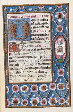 1505 Facsimile Book Of Hours Use Of Rome