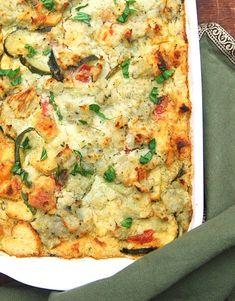 Vegan Zucchini Breakfast Strata