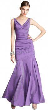 Theia Violet Dress $291