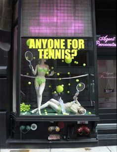 ♥ Agent Provocateur's Fabulous Window Displays ♥ great for sports bras