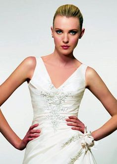 Step 3 Choose the perfect Neckline - design your own wedding dress - http://casualweddingdresses.net/why-not-design-your-own-wedding-dress-for-some-personal-touch/
