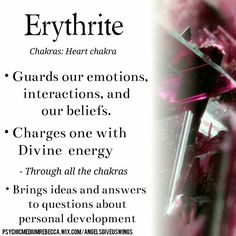 Erythrite crystal meaning