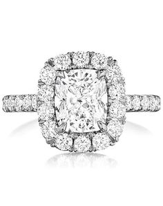 Engagement Rings :   Illustration   Description   Engagement ring with round cut pave halo I Style: AMDM I by Since1910 I knot.ly/6497BABI3    -Read More –   - #WeddingRings https://adlmag.net/2017/12/21/engagement-rings-engagement-ring-with-round-cut-pave-halo-i-style-amdm-i-by-since1910-i-knot-ly/