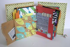 Sanna Lippert Eye Products, Handmade Notebook, 3rd Eye, Flower Seeds, Crafty Projects, Mini Books, Mini Albums, Notebooks, Flowers