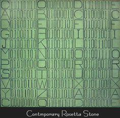 Agnes Ananichuk, Print, Contemporary Rosetta Stone, BC, CANADA  ( #Art #Print )  http://www.aananichukart.com/