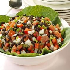 Calico Black Bean Salad Recipe - tried it for Memorial Day cook-out and everyone loved it!