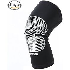Knee Sleeve TOITEHOO Knee Brace Athletics Knee Compression Sleeve Support Improves the Blood Circulation and Muscular Recovery For Running, Basketball, Joint Pain Relief-Black #SportsMedicine