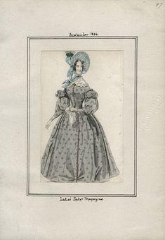 Ladies' Pocket Magazine September 1836 LAPL
