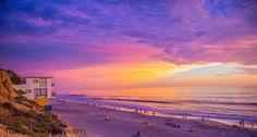 Sunset Moonlight Beach, Encinitas