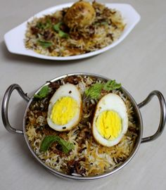 Hyderabadi Egg Biryani is an authentic dum biryani recipe in hyderabadi style made using eggs.#eggreipes #eggbiryani