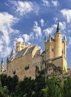 Alcazar Of Segovia Castle in Segovia, Spain