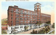 The new Baldwin Piano Factory building