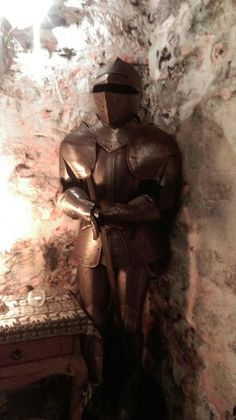 My knight in shining armour Riding Holiday, Knight In Shining Armor, Horse Riding, Armour, Castle, Statue, Holidays, Fictional Characters, Body Armor