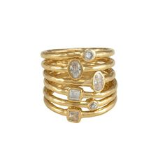 Have you seen our stunning Munroe Ring?? Melinda Maria available @ www.marleyrose.com.au