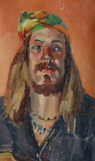 Jim McVicker Paintings: Portrait and Figure Paintings