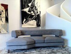 David Manien - tapissier décorateur lyon - création de mobilier contemporain et design | Canapé Oscar