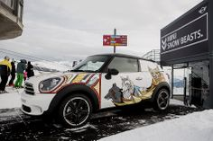 Did someone say SNOW BEAST? MINI Paceman gets a mountain-faring makeover at the Burton European Open.